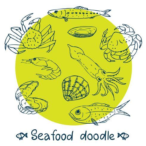 gribble série fruits de mer ensemble