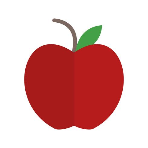 Vector ícone da Apple