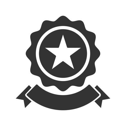 Icône de glyphe de récompense de SEO