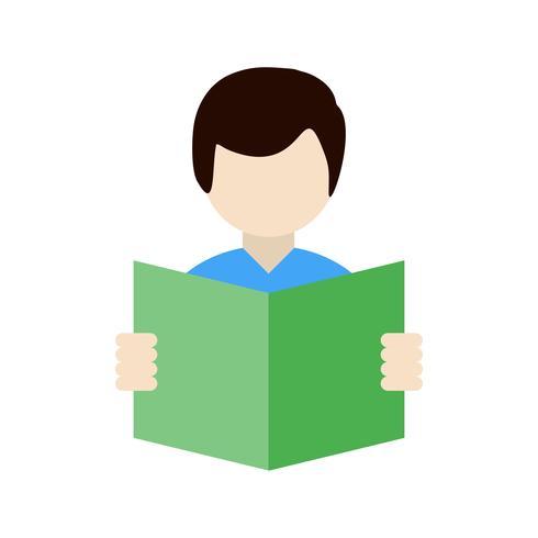 Vector Reading Icon