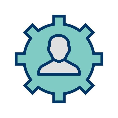 Icono de Vector de gestión