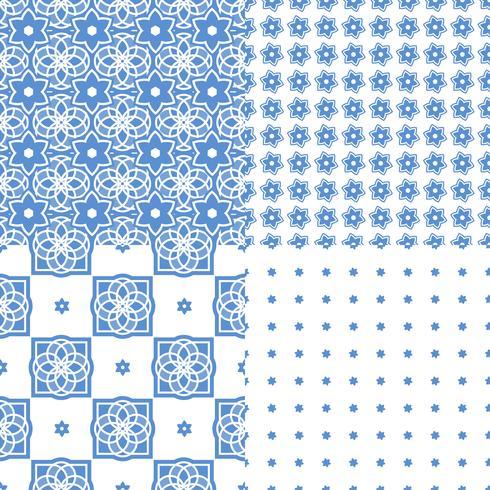 Azulejos portugueses. Padrões sem emenda.