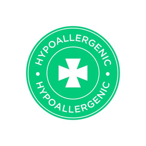 Icône hypoallergénique