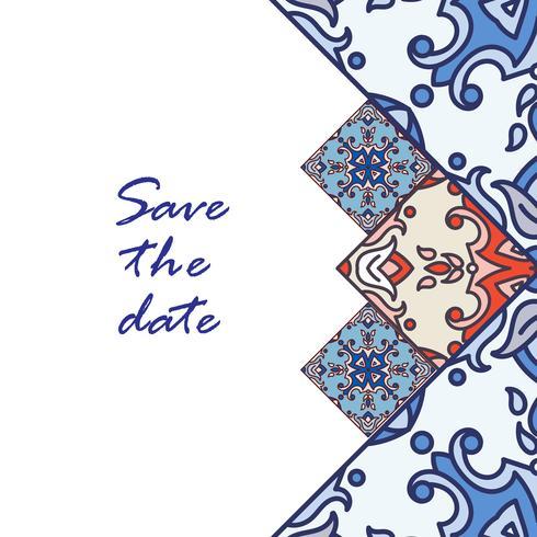 Banner azulejos i portugisiska plattor stil för affärer.