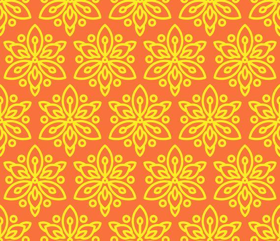Nahtloses Muster mit Sonnenblumen.