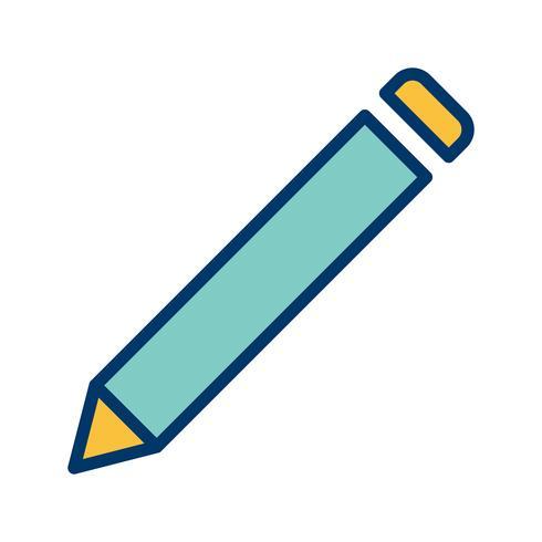 Ícone de vetor de lápis