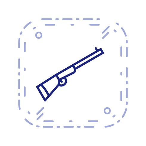 Shotgun Vector Icon