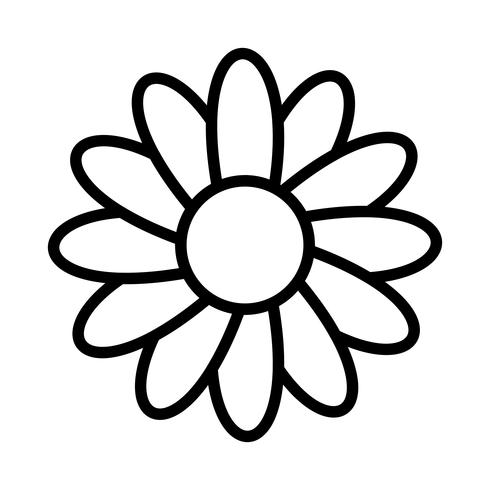 Marguerite Vector Icon