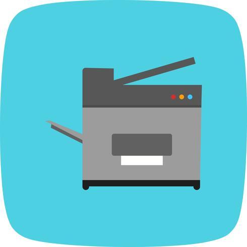 Kopieer machine vector pictogram