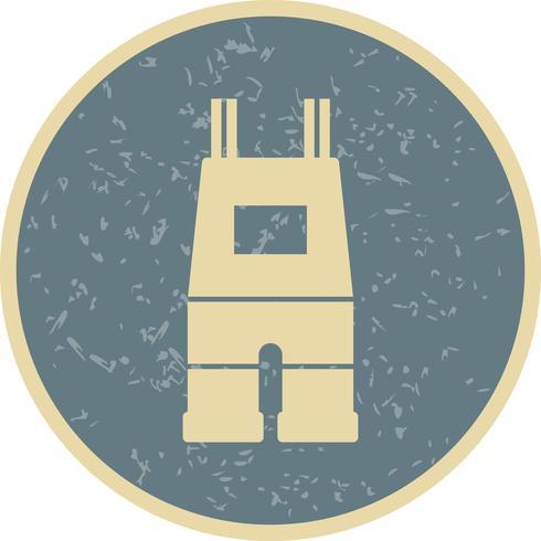 Tuinbroek Vector Icon