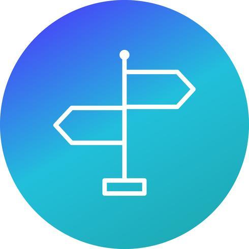 Richtungs-Vektor-Symbol
