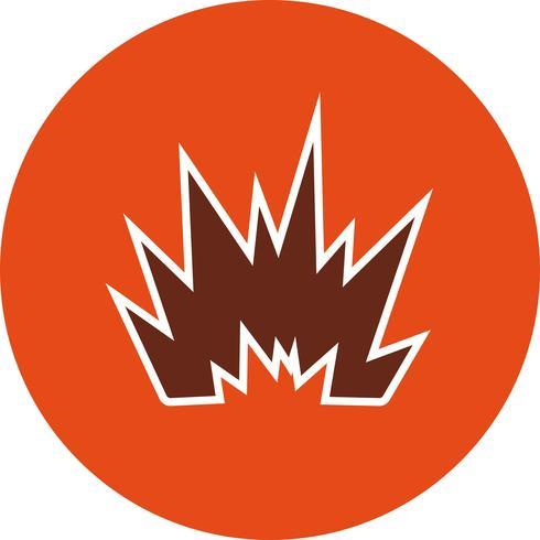 Explosion-Vektor-Symbol