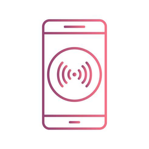 Hotspot Mobile Application Vector Icône