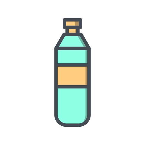 Vektor-Wasserflaschen-Symbol