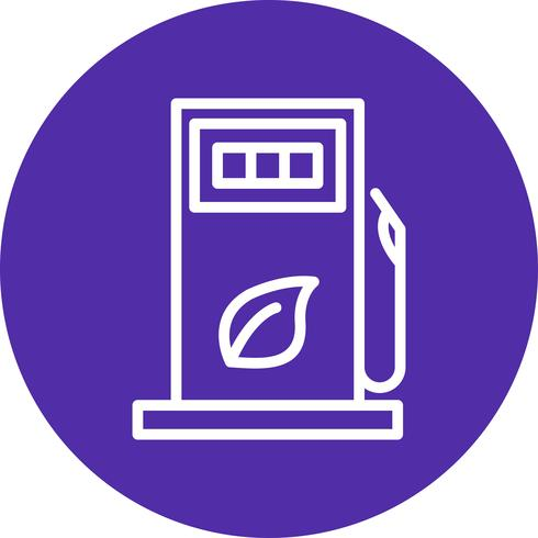 Gas-Vektor-Symbol