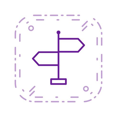 Richting Vector Icon