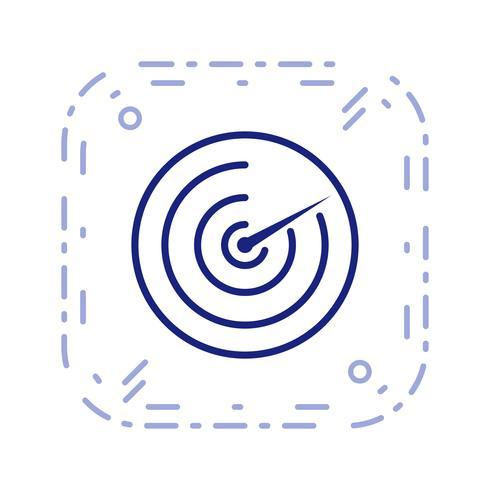 icône de vecteur radar