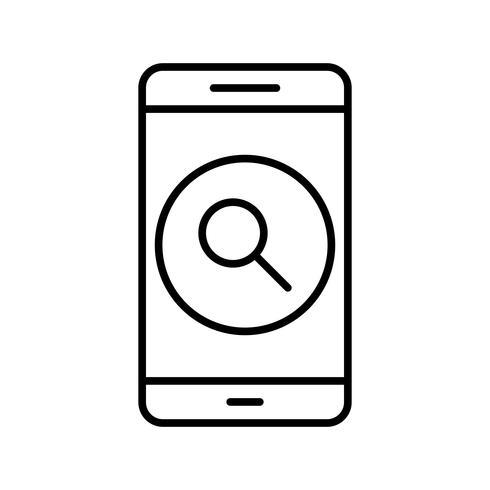 Suche Vektor-Symbol für mobile Anwendung