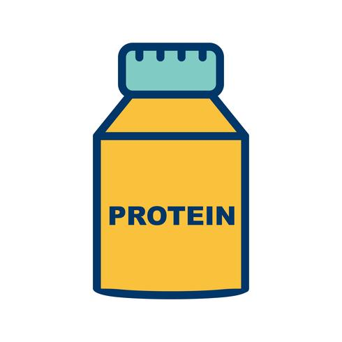 Icona della proteina vettoriale
