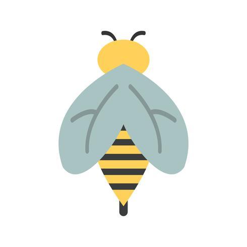 Bienen-Vektor-Symbol