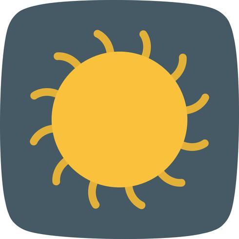 Icona del vettore di sole