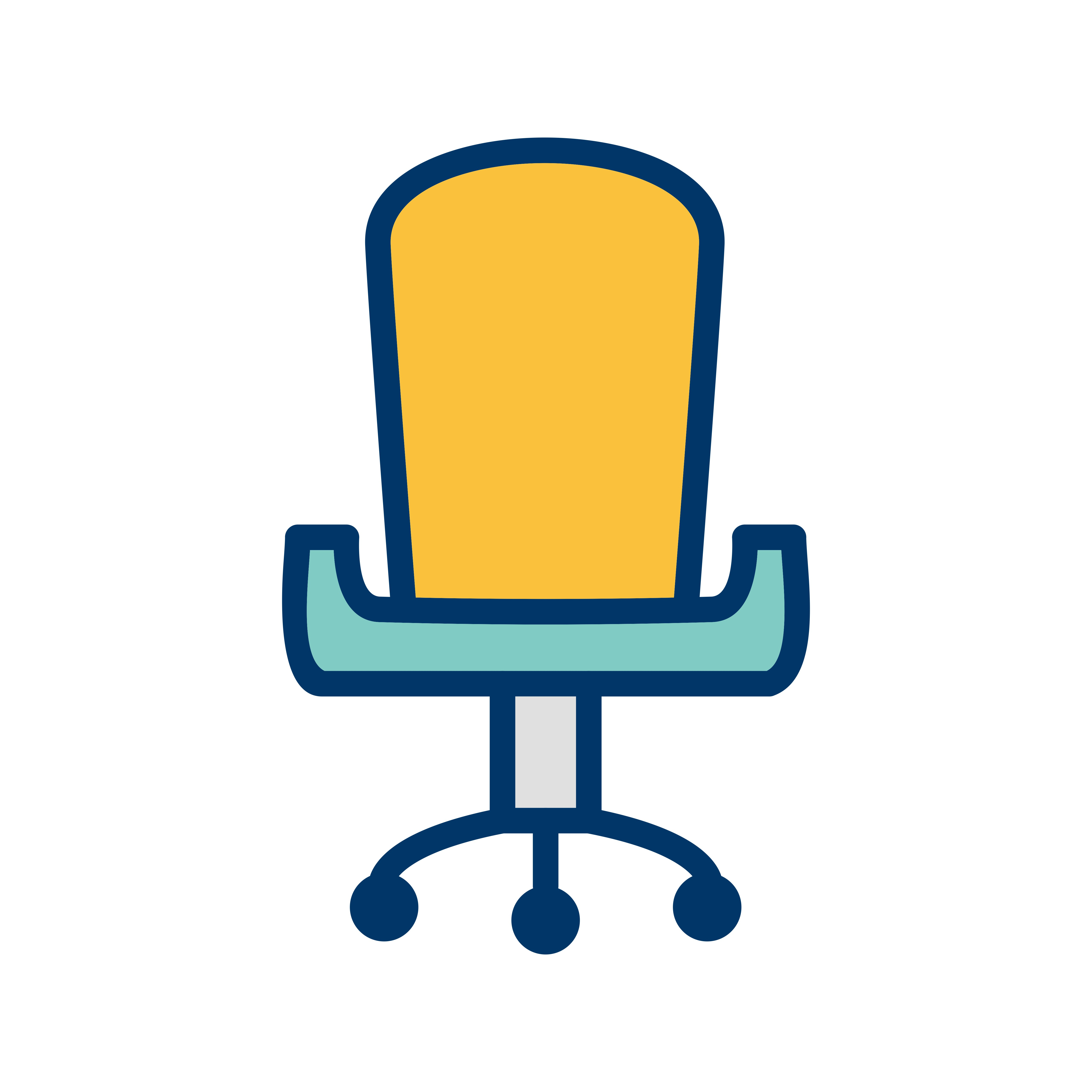 Office Chair Vector Icon 353196 - Download Free Vectors ...