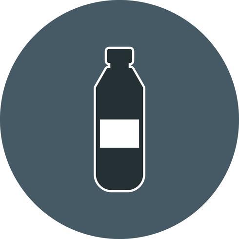 Vector icono de botella de agua
