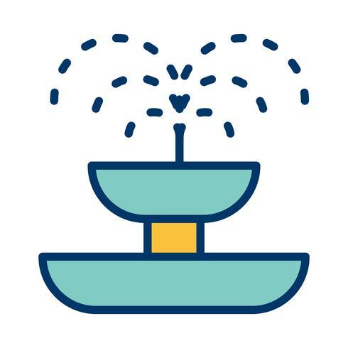 Brunnen-Vektor-Symbol