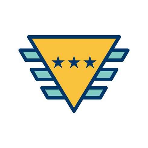 Badge Vector pictogram