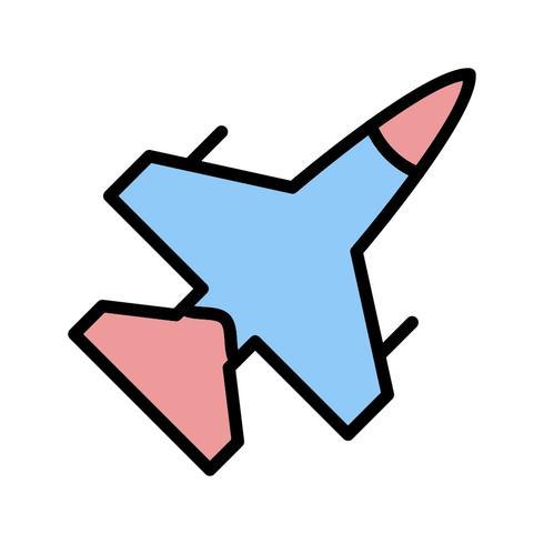jet vector pictogram