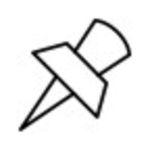 Pin-Vektor-Symbol