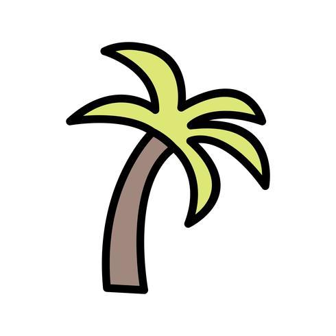 Icona di vettore della palma
