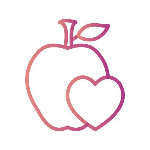 Vektor-gesunde Lebensmittel-Symbol