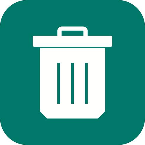 Trash Vector Icon