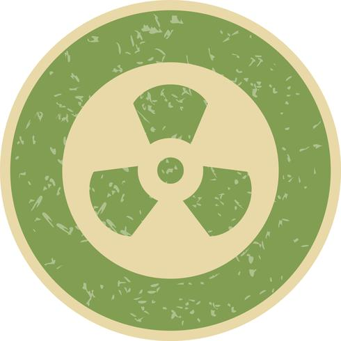 Radiation Vector Icon