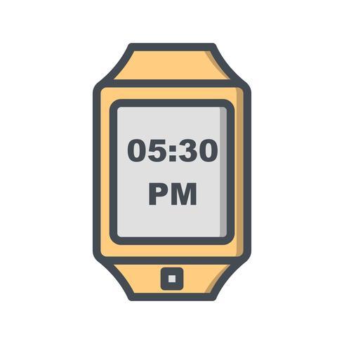 Ícone de relógio inteligente de vetor