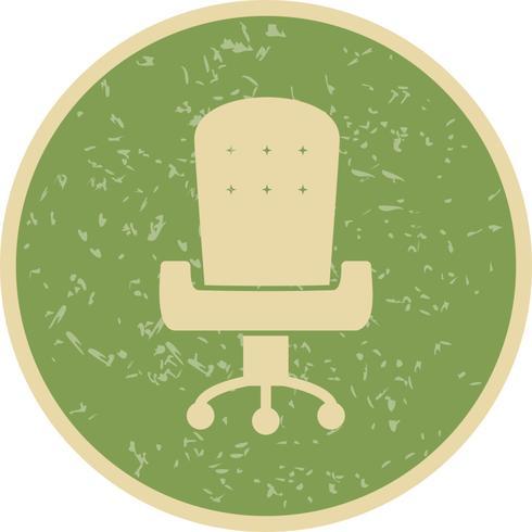 Bureaustoel Vector Icon