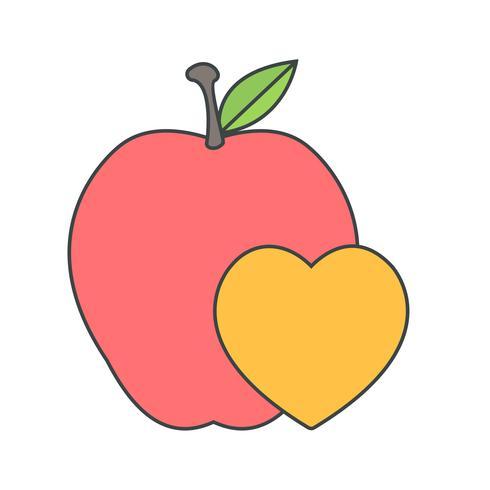 Vector icono de comida saludable