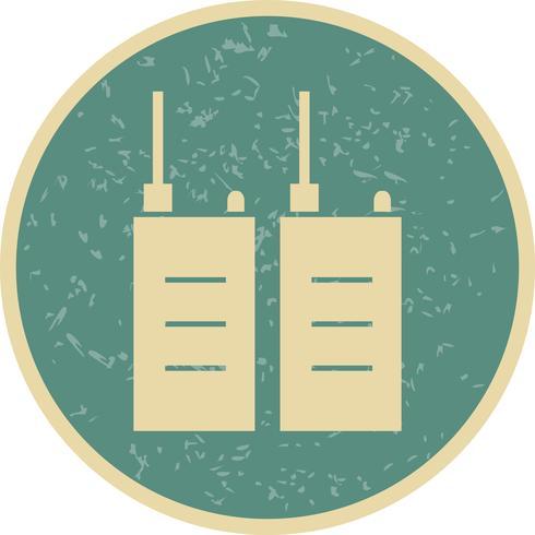 Icono de Vector de Walkie Talkie