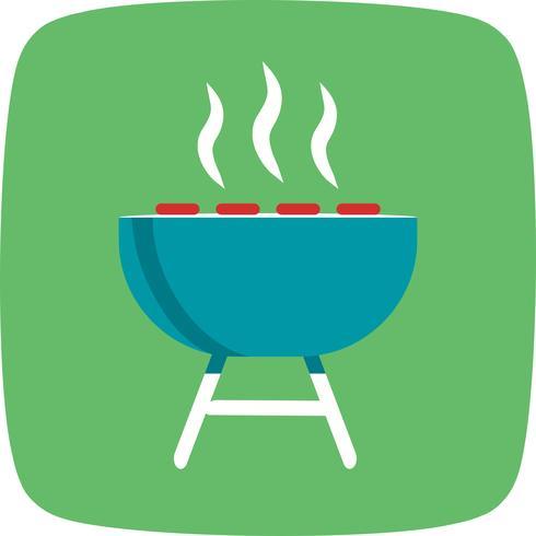 Barbecue-Vektor-Symbol