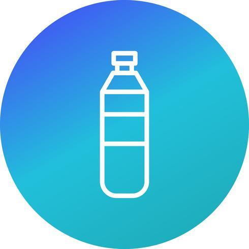 Icona della bottiglia d'acqua di vettore