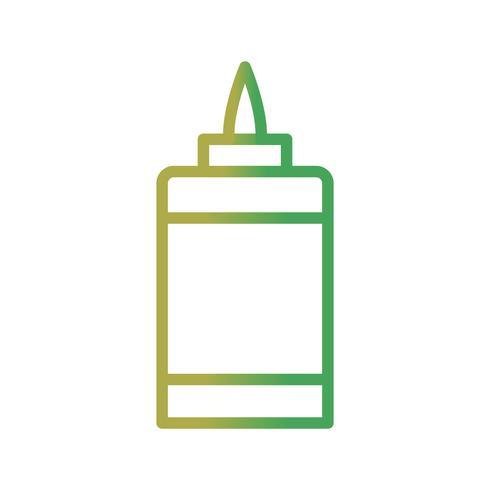 Kleber-Vektor-Symbol