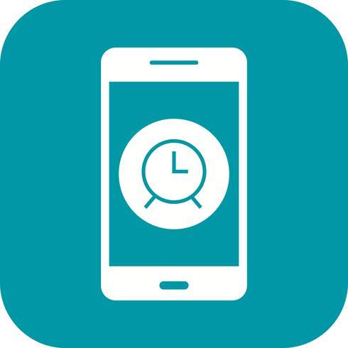 Alarm mobiele applicatie Vector Icon
