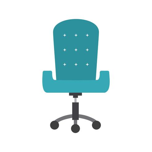 Bürostuhl-Vektor-Symbol