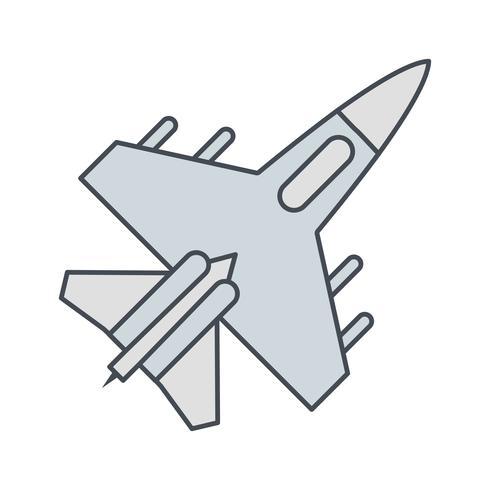 icona di vettore del getto