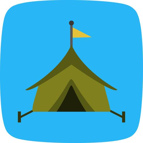 Tent Vector pictogram