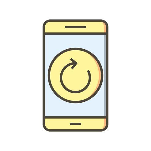 Ripristina l'icona di vettore dell'applicazione mobile