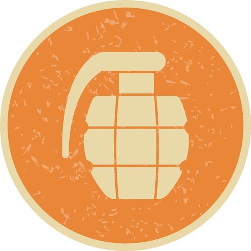 granaat vector pictogram