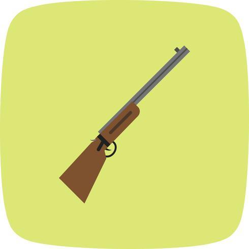 jachtgeweer vector pictogram
