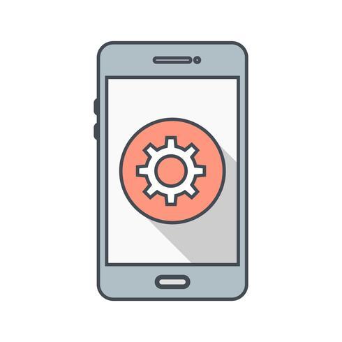 Het pictogram van de mobiele toepassing instellen